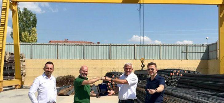 Lokman Koçaslan Otomotiv, Sarıpekmez Grup'a 5 adet MAN çekici teslimatı yaptı