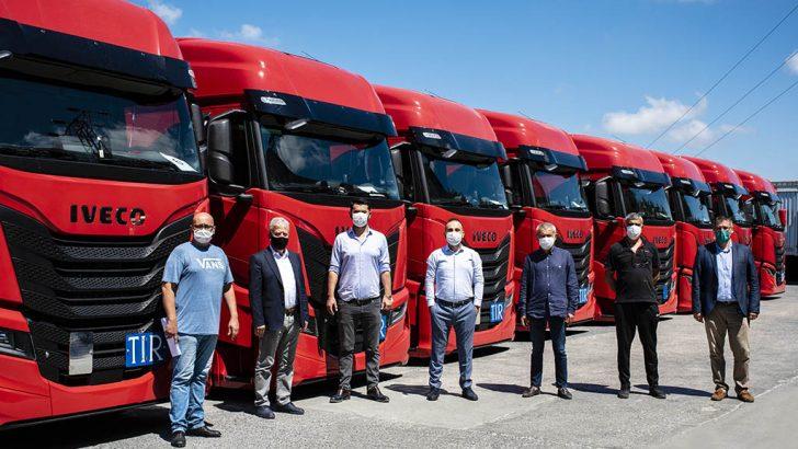 Hüner Uluslararası Taşımacılık firmasının tercihi Iveco S-Way