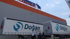 Türkiye'nin köklü nakliye firmalarından Doğan Taşımacılık 7 adet SCS Mega Varios treylerini teslim aldı