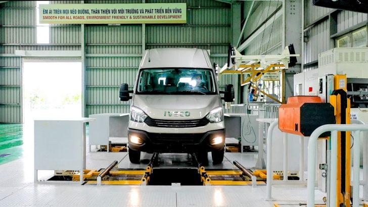 IVECO Vietnam'da Daily minibüsün üretimine başladı
