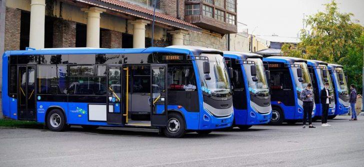 Otokar, Gürcistan'ın otobüs teslimatına başladı