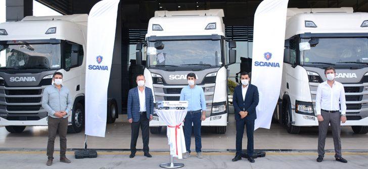 Scania'dan Mersin bölgesine özel çekici