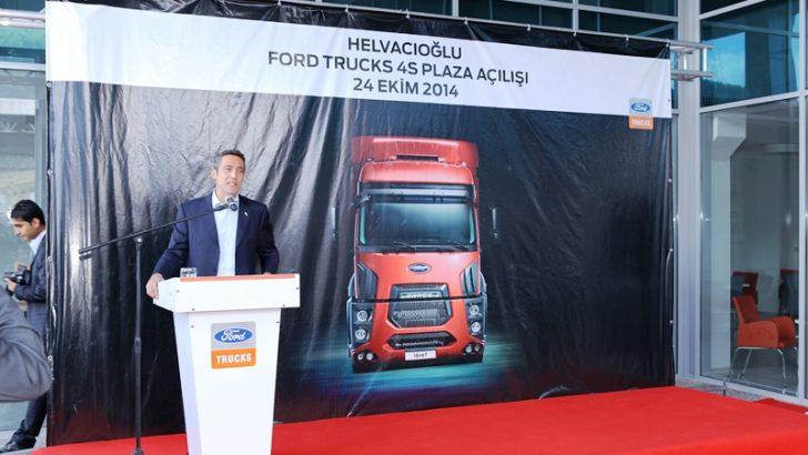 Ford Trucks, Ege bölgesi'nde  yeni 4S Plazaları ile güçleniyor