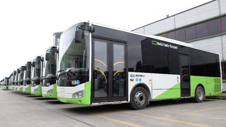 Otokar'ın 142 araçlık dev otobüs filosu  Malta caddelerinde