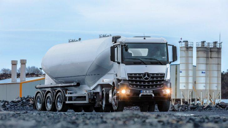 Mercedes-Benz Türk  Beton 2017 Fuarı'na katılıyor