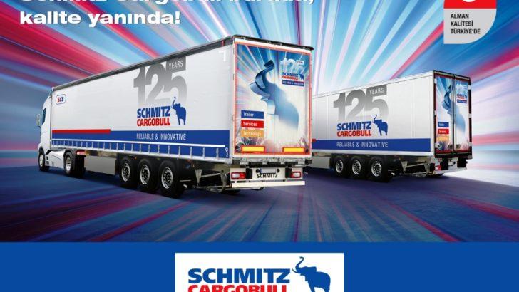 Schmitz Cargobull'dan 125. Yıldönümü'ne Özel Kampanya!