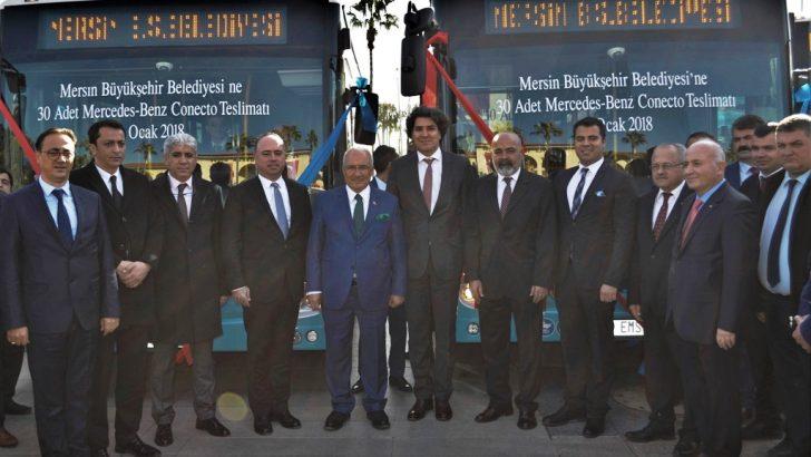 MERSİN BÜYÜKŞEHİR BELEDİYESİ'NE 30 ADET CONECTO