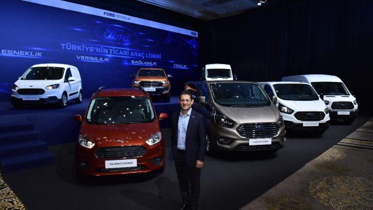 Ford ticari ailesi 1 numara poz verdi