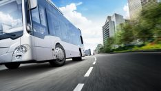 Elektrikli otobüslere lastik geliştirdi