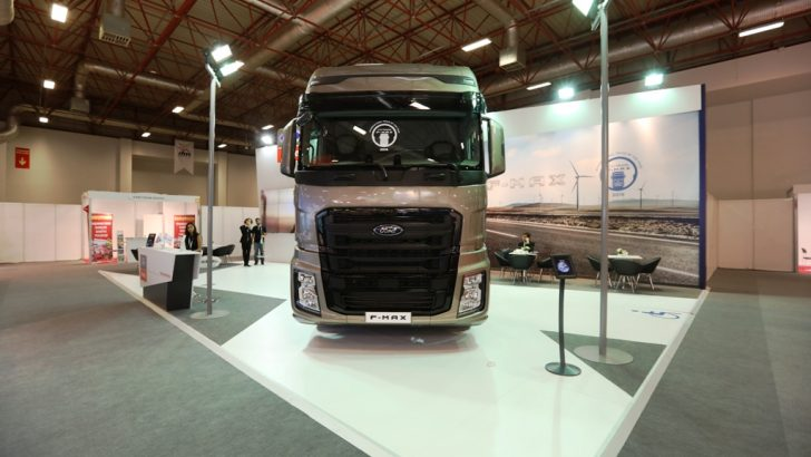 Yılın kamyonu ödülü yeni Ford Trucks F-MAX'in