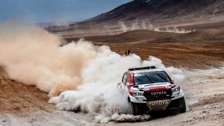 Toyota, Dakar Rallisi'nde Liderliğe Yükseldi