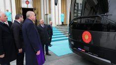 Cumhurbaşkanlığına özel zırhlı otobüs üretti