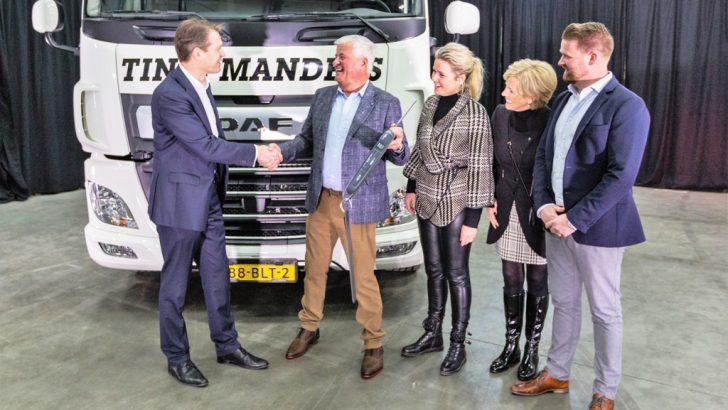 Geldrop'a DAF CF Electric kamyon
