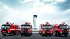 Volvo'dan İstanbul Havalimanı'na 5 itfaiye