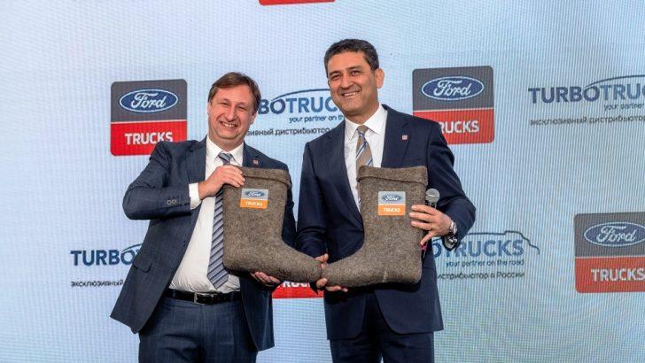 Ford Trucks'tan Rusya'da yeni 3S tesisi