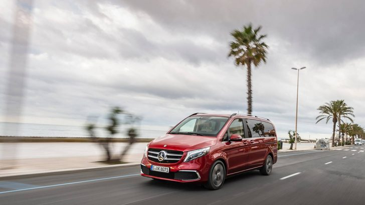 2019 Makyajlı Mercedes-Benz Vito tanıtıldı