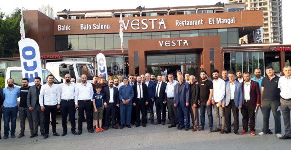 IVECO 200'den fazla evden eve nakliyeci ile buluştu