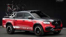 Bisiklet sever Mercedes X-Class müşterilerine müjde