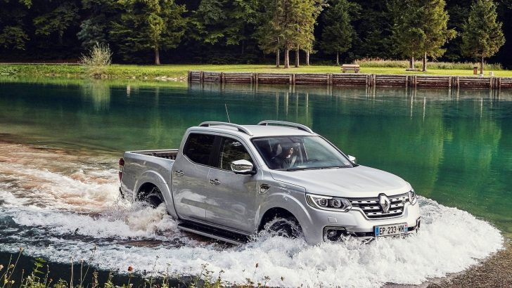 Konforlu pick-up Renault Alaskan