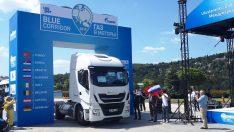 IVECO, Mavi Koridor Rallisi'ne 2 Stralis NP LNG'li çekici ile katıldı