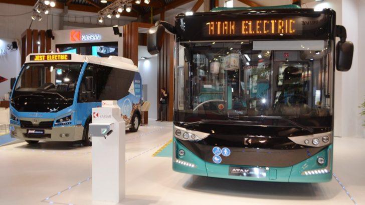 Karsan, Elektrikli Modelleriyle Busworld Europe Fuarı'nda!