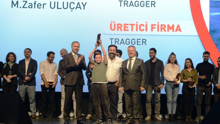 TRAGGER T-CAR'a Tasarım Ödülü