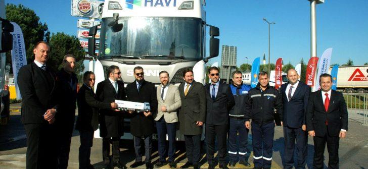 Scania'dan İlk LNG'li Filo Teslimatı