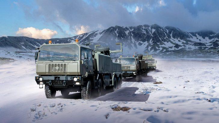 IVECO'dan Romanya Silahlı Kuvvetlerine 2900 araç