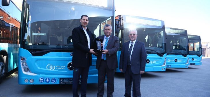 Özulaş Toplu Taşım, 8 adet Mercedes-Benz Conecto teslim aldı