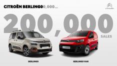 CITROËN BERLINGO, 200.000 SATIŞ ADEDİNE ULAŞTI