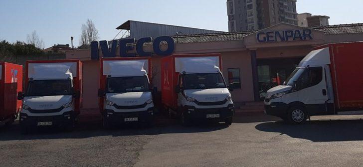 IVECO'dan İstanbul'da Daily Hi Matic teslimatları