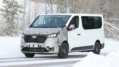 2021 Renault Trafic kameralara yakalandı