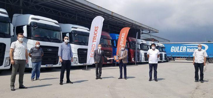 Güler Nakliyat, filosunu 40 adet Uluslararası Yılın Kamyonu ödüllü F-MAX ile genişletiyor