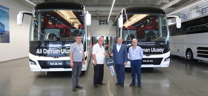 Ali Osman Ulusoy otobüs filosuna 2 adet MAN Lion's Coach takviyesi