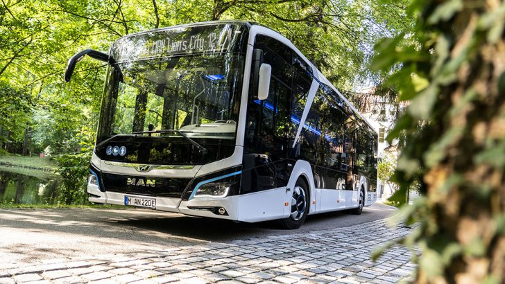 MAN'ın 50 yıllık elektrikli otobüs tecrübesi