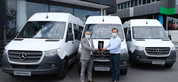 Ofses Turizm'in tercihi Mercedes-Benz