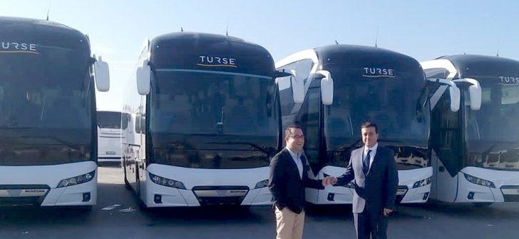 Antalya'nın köklü turizm firması TURSE, filosuna 5 adet Neoplan Tourliner kattı